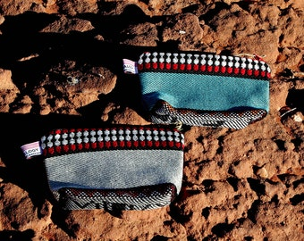 A set of 2 bedouin makeup bags