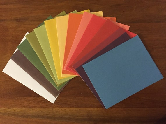 A2 Cards Envelopes Multi Color Card Making Supplies