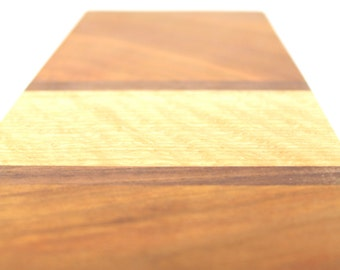Striped Hardwood Cutting Serving Board - OOAK - Sustainable Harvest -  Timber Green Woods