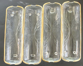 Set of 8 1960's Glass Corn Dishes