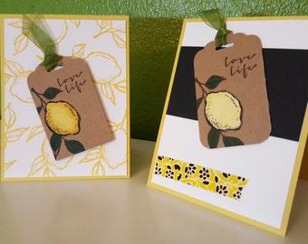 Love Life Lemon Cards