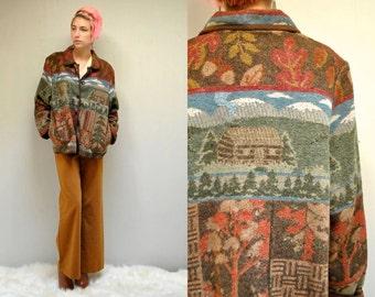 Woodland Jacket //   Oversized Jacket   //   AUTUMN WIND