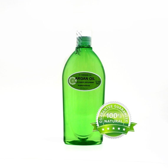 12 OZ Argan Oil Marrakesh OIl Pure for Hair, Anti Aging, Eczema Cold Pressed ORGANIC
