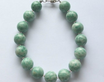 Amazonite Bead Bracelet