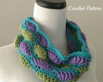 ON SALE CROCHET Pattern - Chunky Cowl Crochet Pattern, Neckwarmer Pattern, Easy Crochet Pattern, Circle Scarf Crochet Pattern