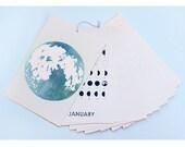 2016 Lunar Calendar /// Year Of Moons