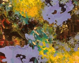 The Garden II Abstract Art Print
