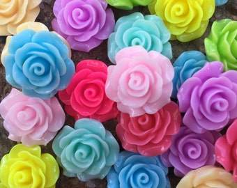 Everything Roses Assorted Roses Lot Supplies Scrapbooking Etsy Bling Embellishments On Etsy Alteredhead Sale