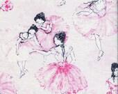 Blush Ballerina - Timeless Treasures - Half Yard