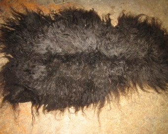 Wensleydale Finn cross sheep skin