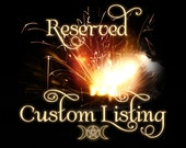 Custom Handfasting Broom for Emily, Wedding Jump Broom, Witchcraft, Wedding Broom