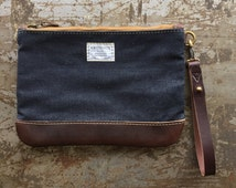 No. 9 Personal Effects Bag in Cone Denim