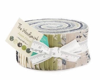 The Wordsmith Moda Jelly Roll Designed by Janet Clare