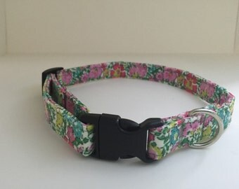 Liberty of London baby cord collar 20mm buckle