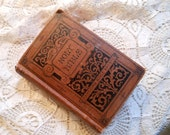 Pocket Chunky Holy Bible 1889 Antique at Quilted Nest