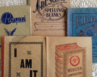 Vintage Composition Books Instant Collection