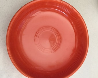 "1936 - 1960 ORIGINAL Vintage FIESTA 6"" Red Dessert Bowl"