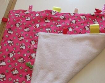 Hello Kitty Taggy Blanket