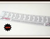 "Ann Budd Knits ""Stitch Gauge Ruler"""