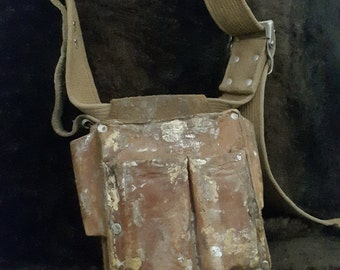 Carpenter's Leather Tool Bag Small