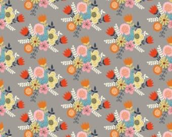 Organic Cotton Fabric - Birch Wildland Poplin - Nesting