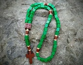 Lego Rosary - The Original Catholic Lego Rosary - Green and Brown Lego Rosary