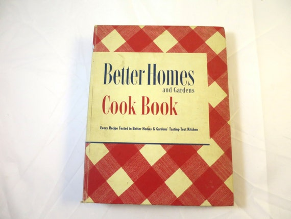 Vintage Better Homes Gardens Cook Book 1951 Recipes Cooking