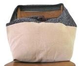 LEOPARD PRINT BAG - Hippie Bag - Crossbody Bag - Over Shoulder Bag - Hobo Bag - Slouch Bag - Boho Bag - Cross Body Bag - Sling Bag