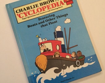 Vintage Charlie Brown's 'Cyclopedia Book Vol 5 Featuring Boats and Other things that Float