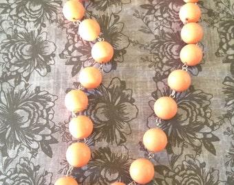 Vintage Peach necklace