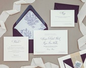 Digital PDF Files -  Wedding invitation and reception items-