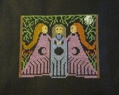 Reserved for Dina. Finished cross stitch. :)
