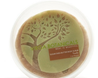 Super-Nourishing Sugar Shea Butter Body Scrub Vanilla - 7oz.