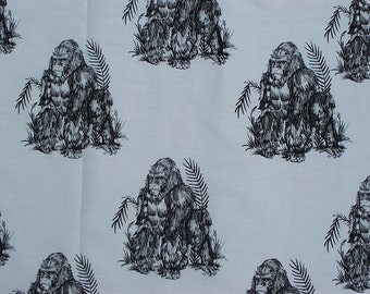 Gorilla Fabric Hot Diggity Dog Fabric 1 yard