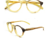 Ox horn eyeglasses glasses frame reading round handmade glasses