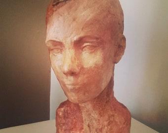 Ubiquity II - self portrait sculpture