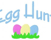 Easter Egg Hunt  5x7 Machine Embroidery Design Instant Download Joyful Stitches