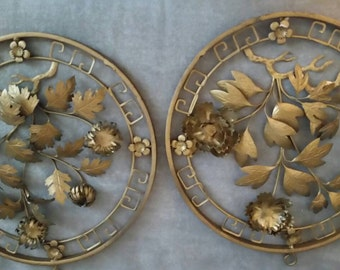 Vintage Brass Wall Hanging