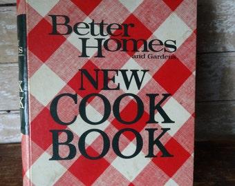 Vintage Better Homes Cook Book 1968