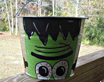 Personalized Tick Or Treat Pails