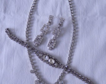Rhinestone set - sold as a marriage