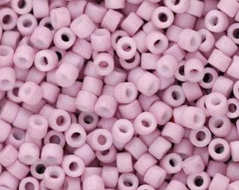 SALE! Miyuki Delica Beads, 11/0, Rose Matte DB-355