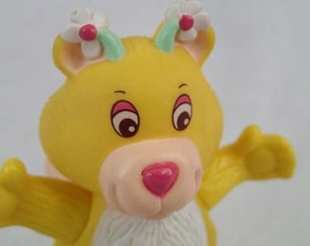 Disney's The Wuzzles Butterbear Butter Bear Yellow Teddy Bear Bumble Bee Fairy Poseable Figure Toy