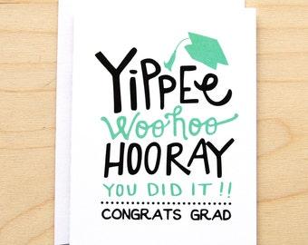 Yippee - Graduation Card