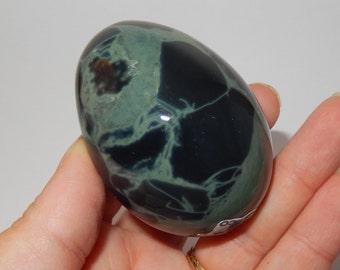 Spider Web Obsidian Egg