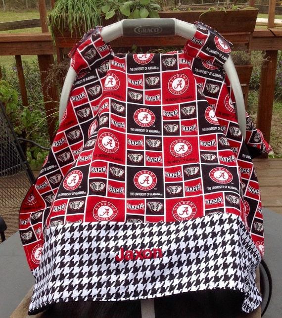 University Of Alabama Inspired Infant Seat Canopy Car