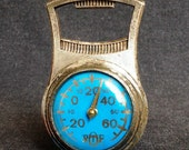 Vintage French Celsius thermometer bottle opener. Gift idea for guys, souvenir from France.