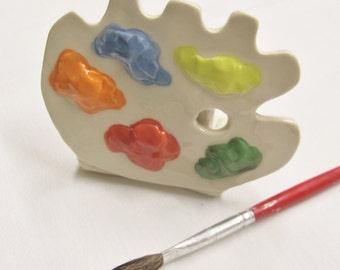 Artists Brush Holder Handmade Ceramic Pottery