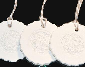 Ceramic Gift Tag or Ornament No4
