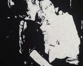 virgin prunes punk goth deathrock icon punk patch